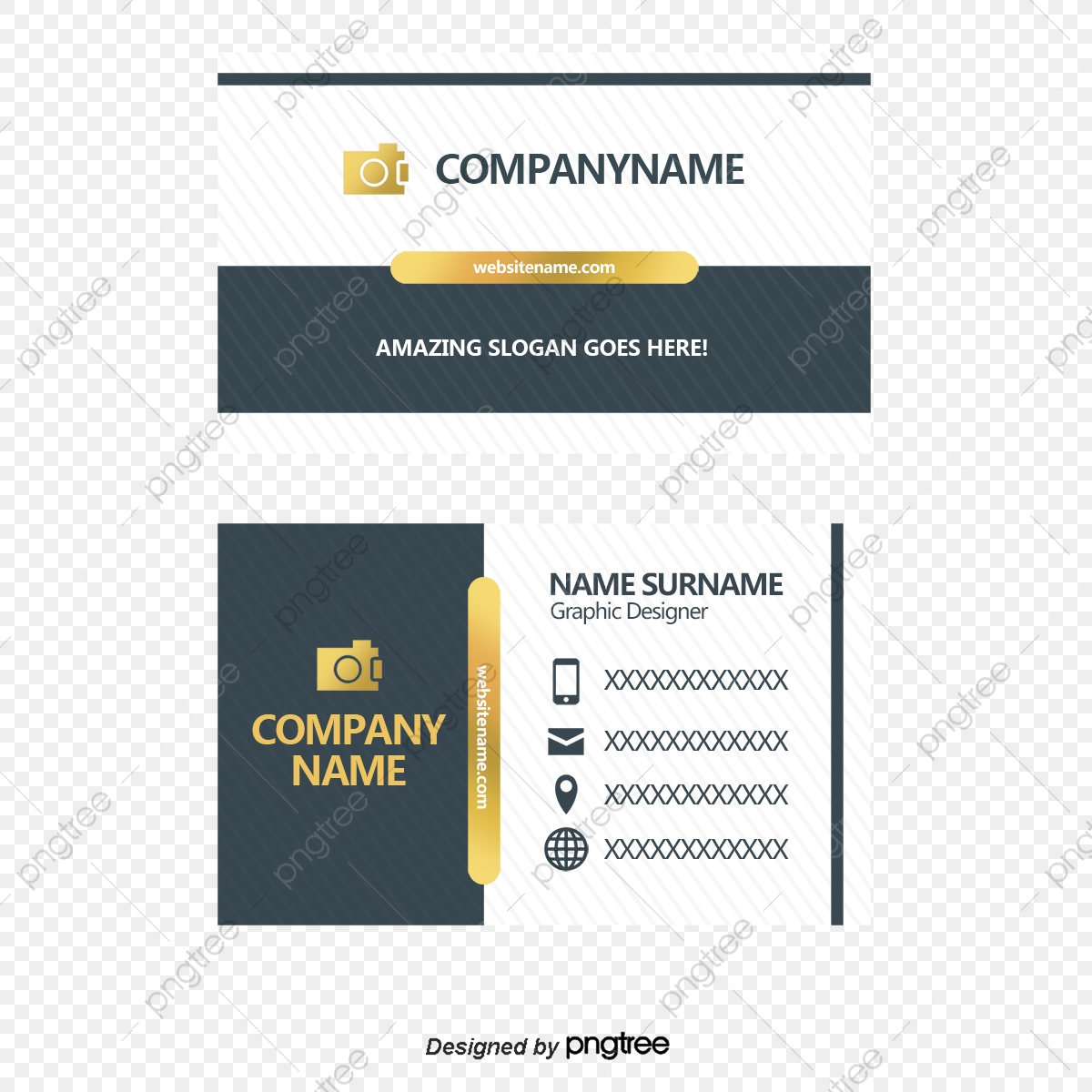 Vector Modern Fashion Business Cards Business Card Business Cards Personal Business Card Png Transparent Clipart Image And Psd File For Free Download