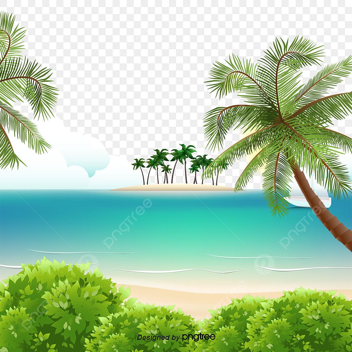 63 pemandangan pantai png HD Terbaik