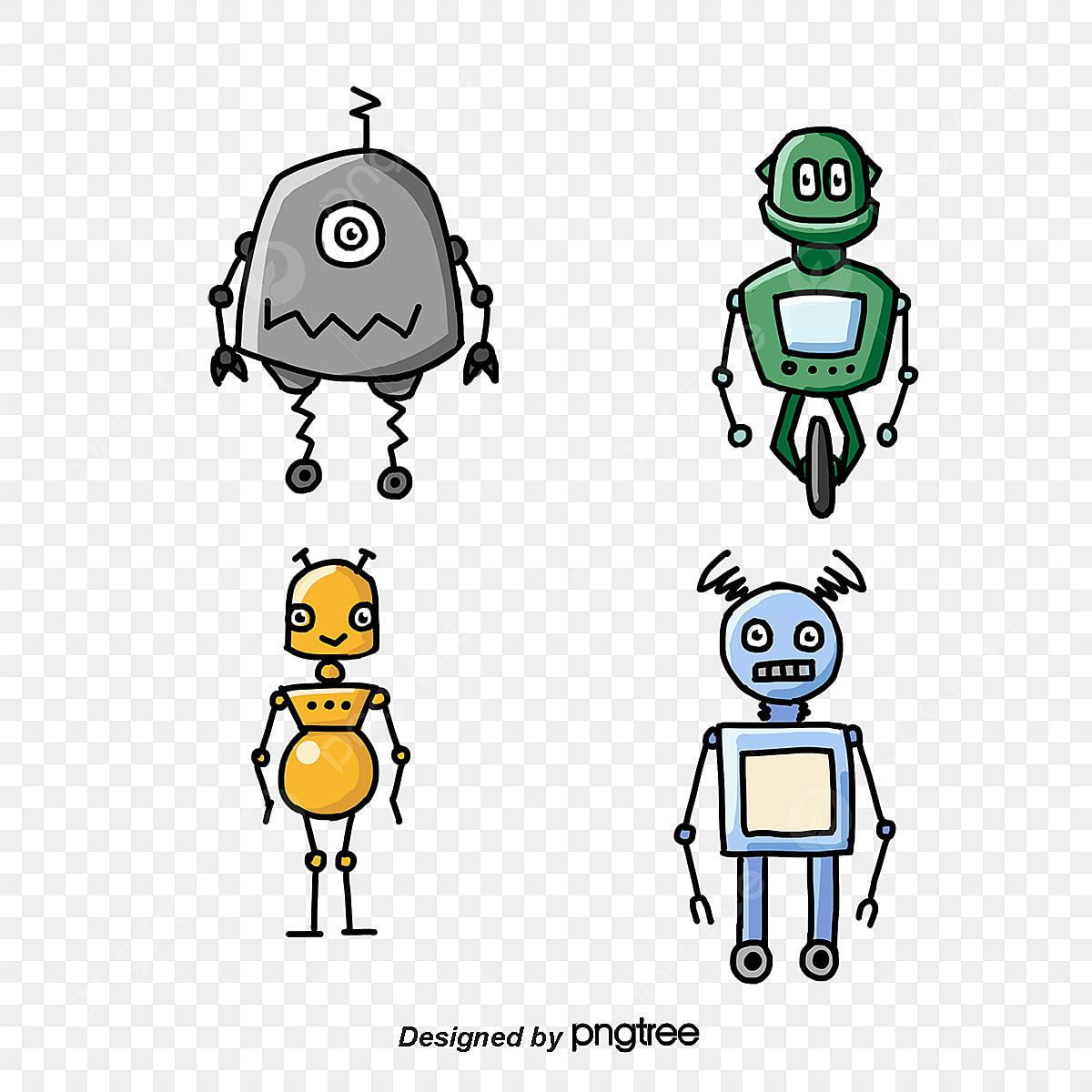 Robot Vector Free Download Robots Robot Face Robotics Art