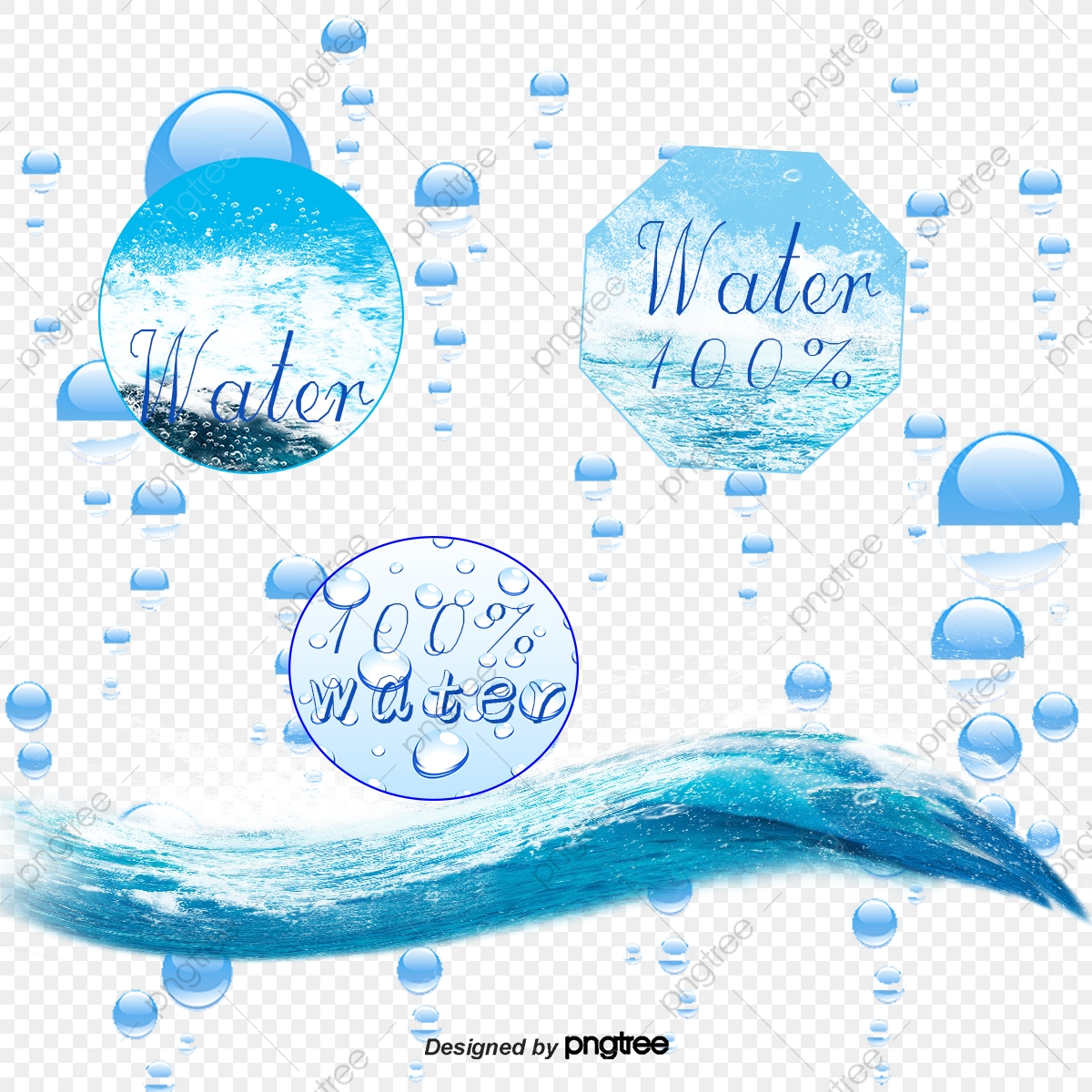 water label background vector free download