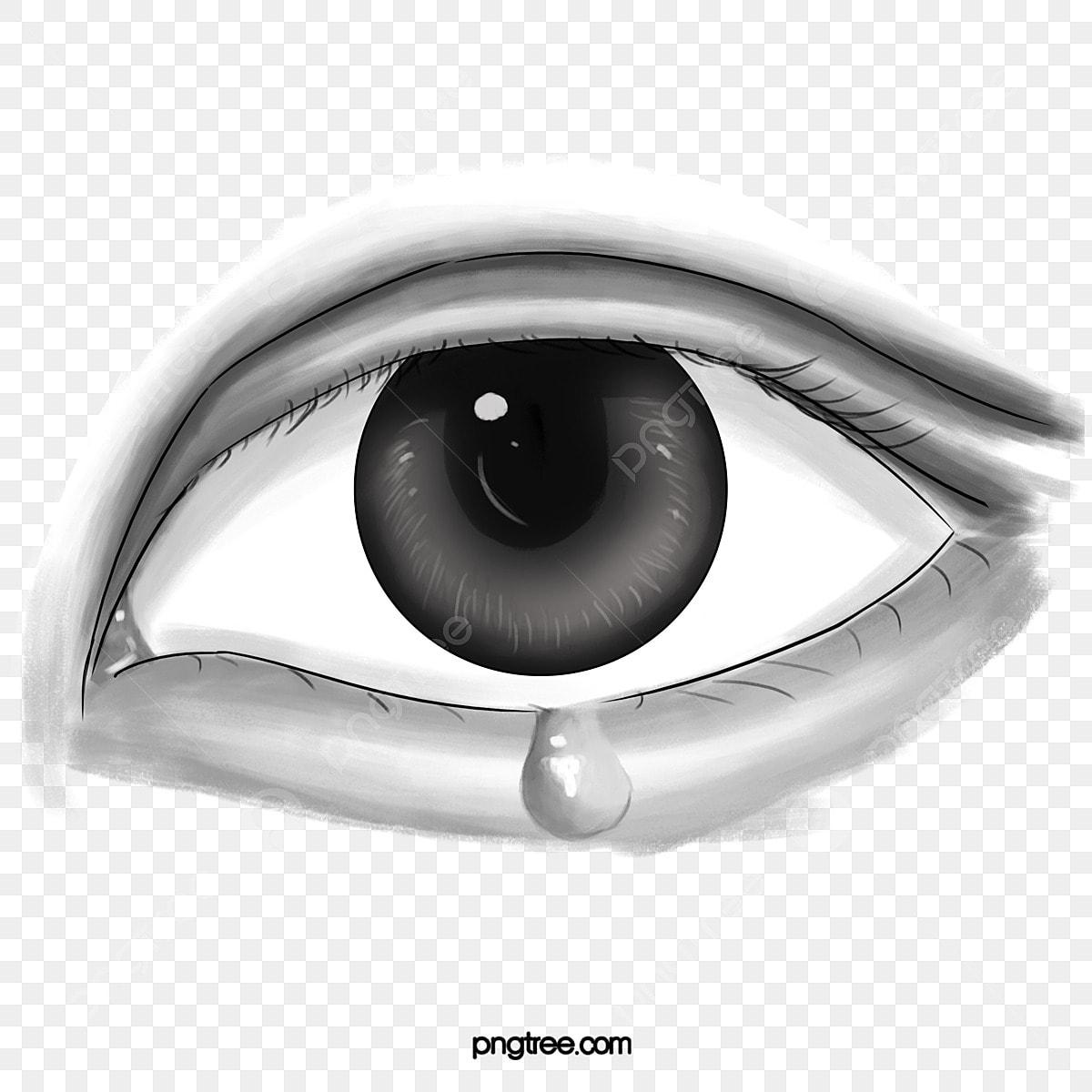 Ojos Llorosos Sketch Ojo Llorar Imagen Png Para Descarga Gratuita