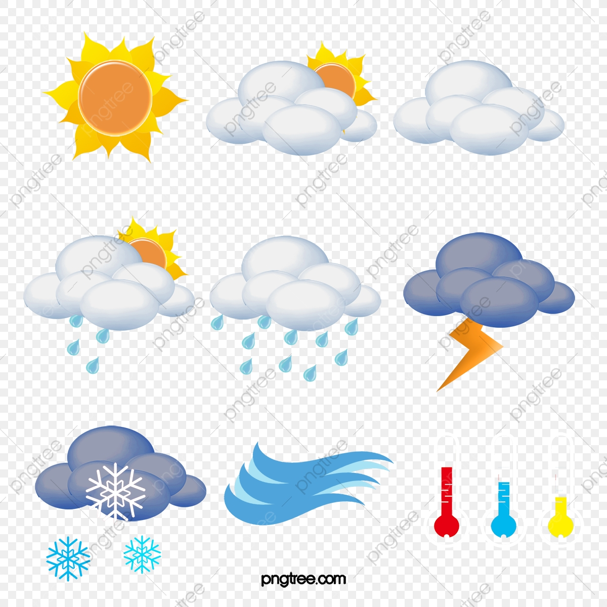 Weather Forecast Icon, The Weather, Forecast, Icon PNG and Vector