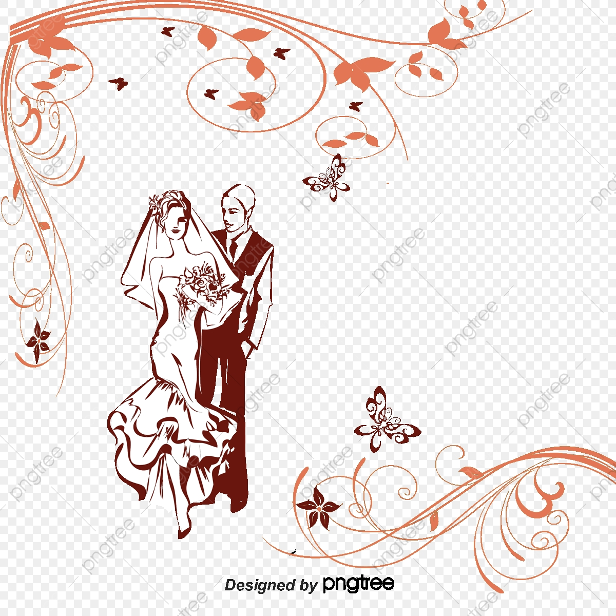 image bordure mariage