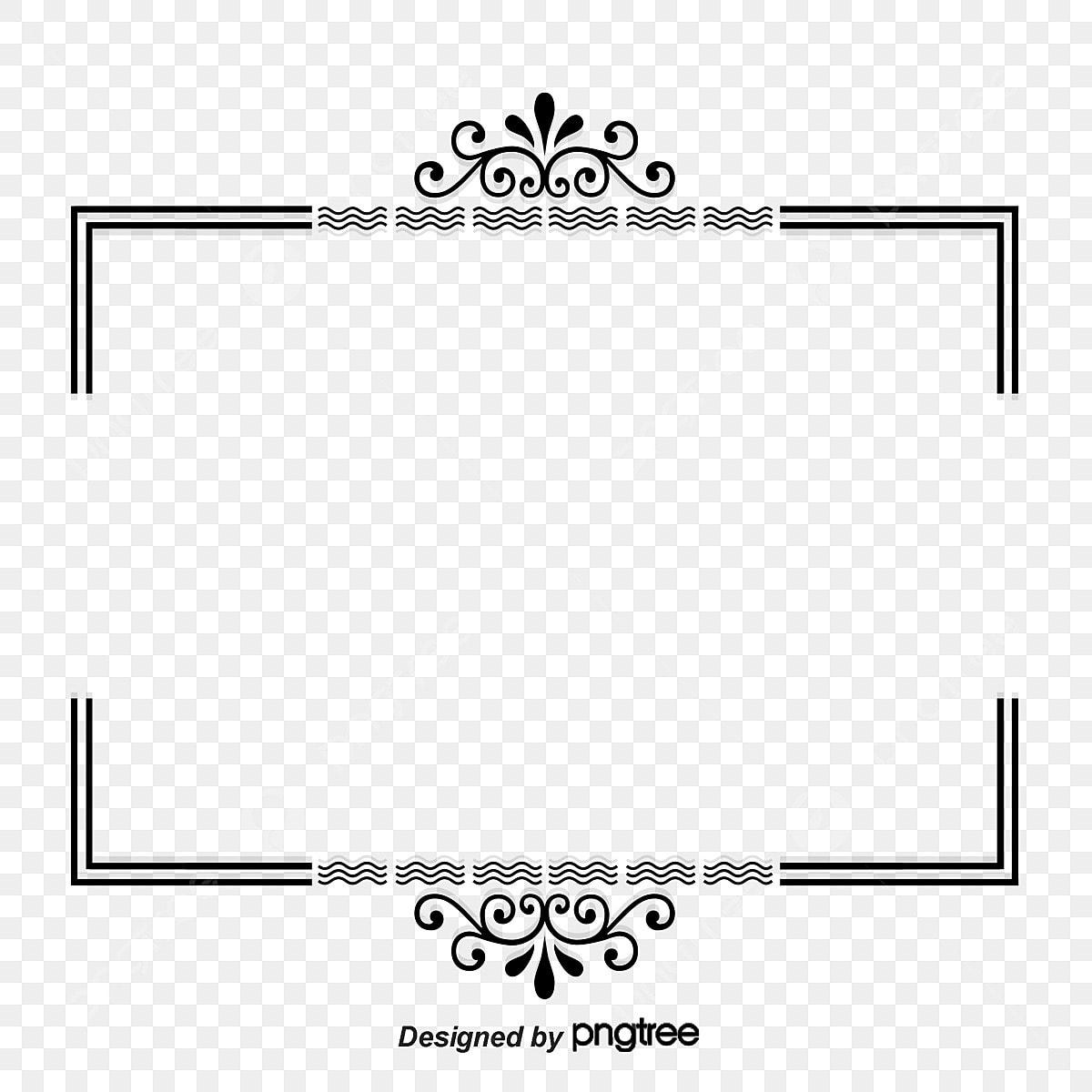 Wedding Invitation Border Wedding Invitation Card Frame Png And