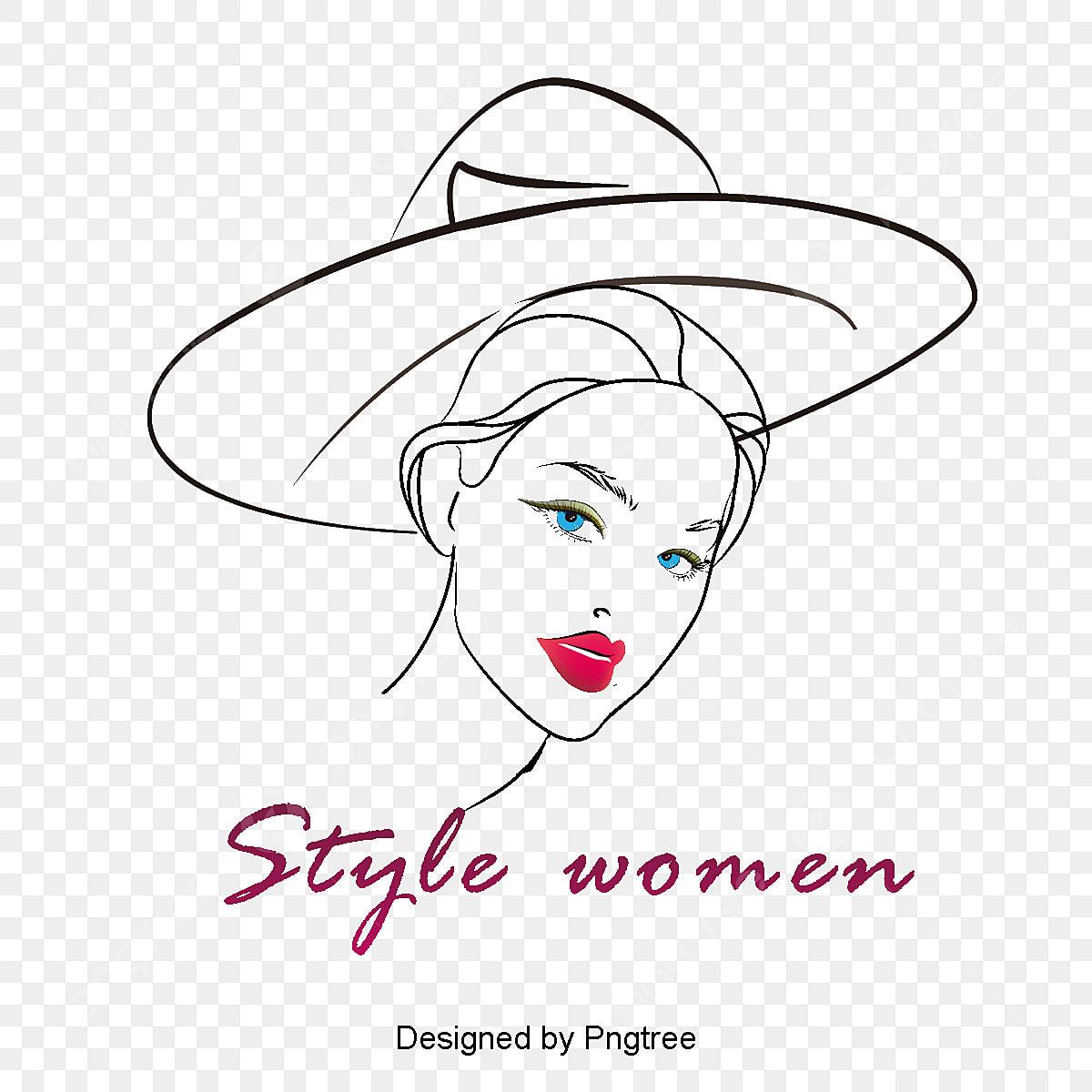 style de femme logo design 300dpi logo la division du