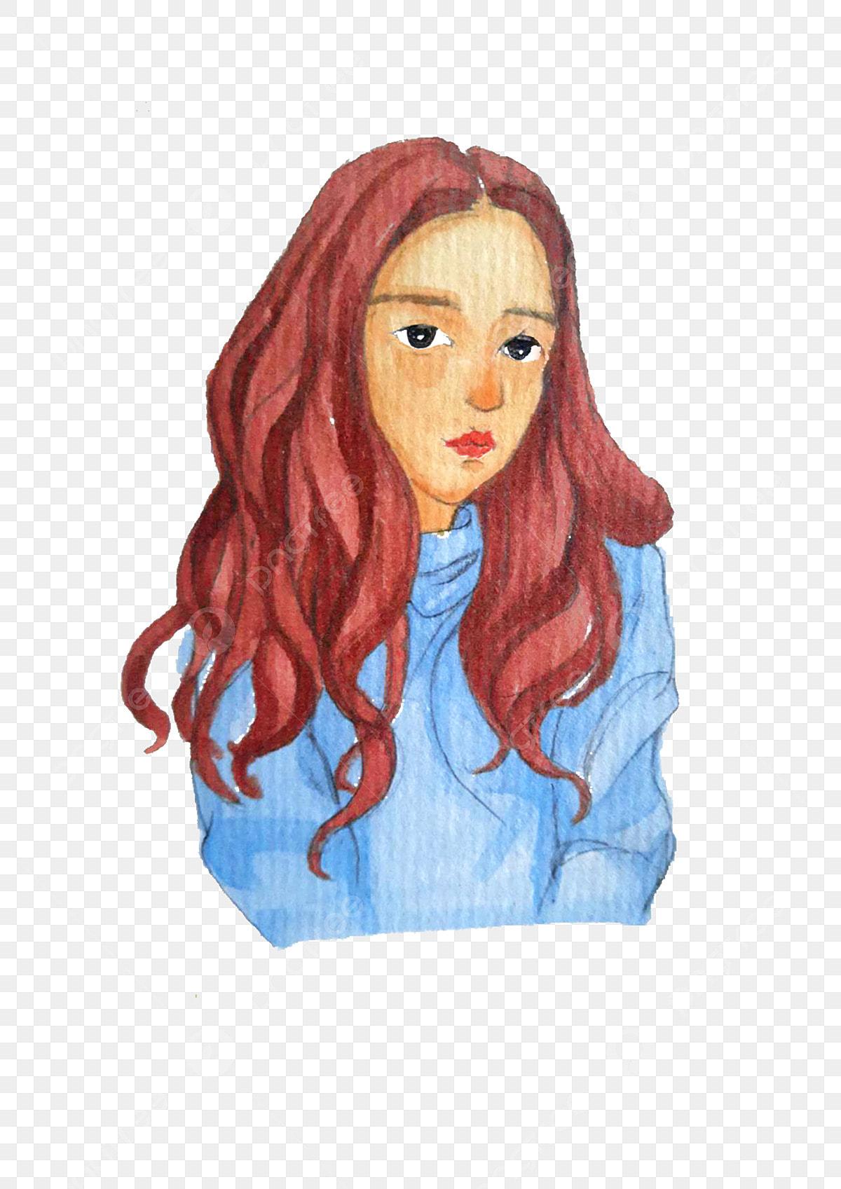 la femme de portrait profil les femmes aquarelle png et
