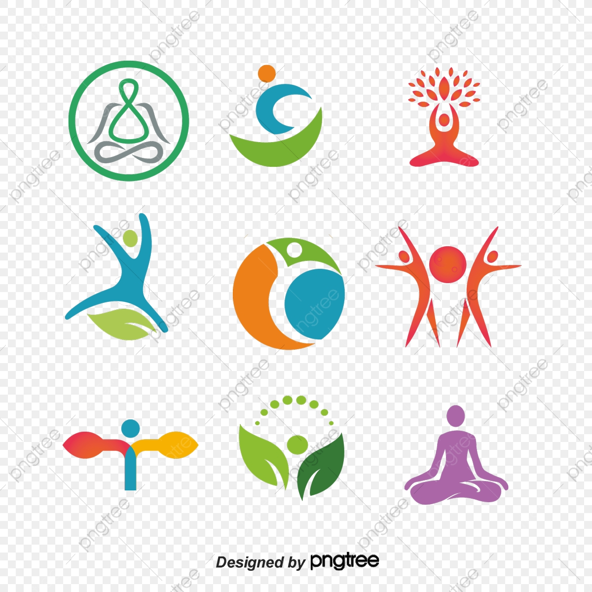 Yoga Logo Vector Material Yoga Vector Logo Vector Logo Mark Icon Png Transparent Clipart Image And Psd File For Free Download