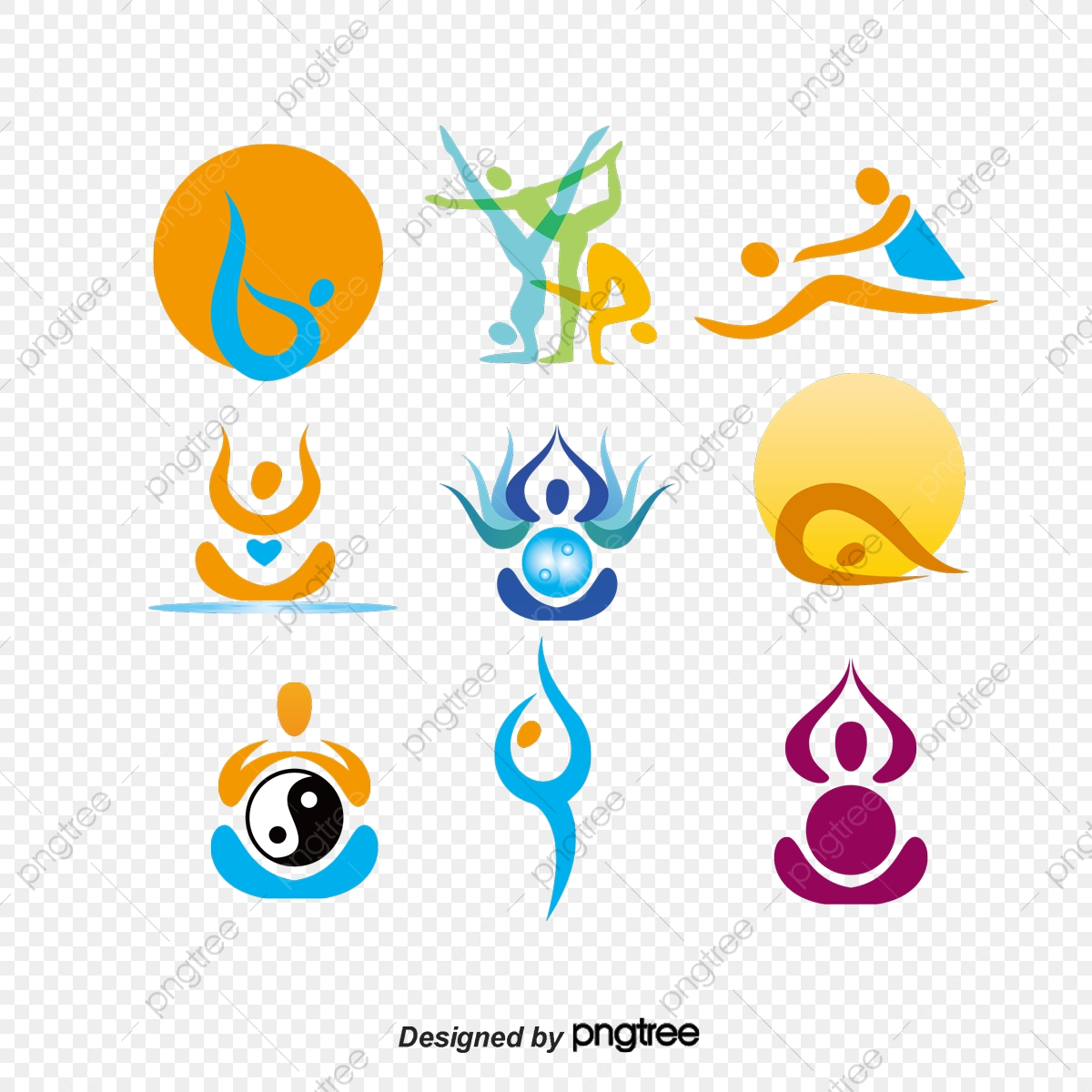 Yoga Logo Vector Material Vector Material Yoga Vector Logo Vector Logo Mark Icon Png Transparent Clipart Image And Psd File For Free Download