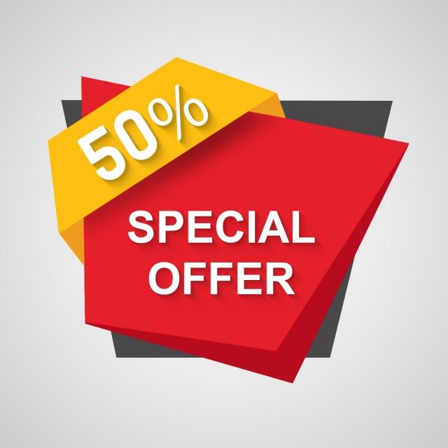 Special Offer 50% Tag, Tag, Offer, Sale PNG Transparent ...