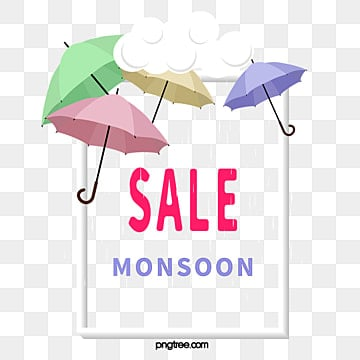 monsoon discount border, Cloud, Monsoon, Discount PNG and PSD
