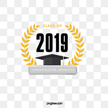 creative elements of golden leaf graduation cap 2019, 2019, Leaf, Bachelor Cap PNG and PSD