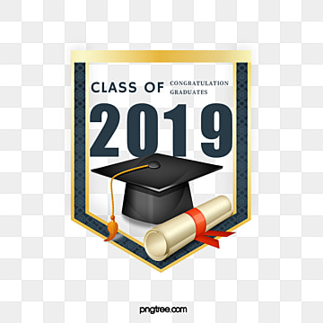 flag 2019 graduation hat creative elements, 2019, Geometric, Bachelor Cap PNG and PSD