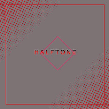Halftone dot border text box, Halftone, Dot, Dot Border PNG and PSD