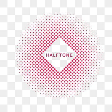 halftone geometric text box text box, Geometric, Halftone, Dot PNG and PSD