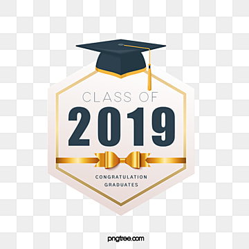 hexagon graduation hat creative elements in 2019, 2019, Hexagon, Bachelor Cap PNG and PSD