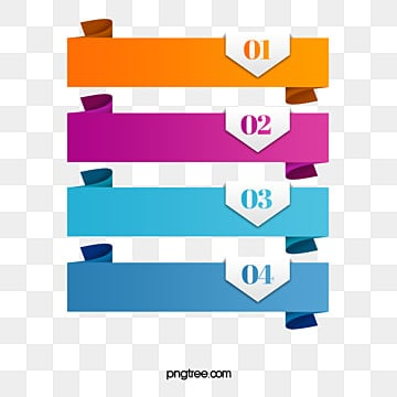 information chart origami banner, Information, Information Chart, Serial Number PNG and Vector