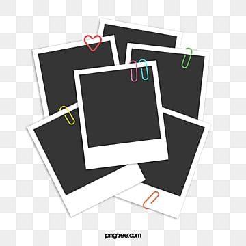 multi sheet paper with paper clip, Office Supplies, Polaroid, Polaroid PNG and PSD