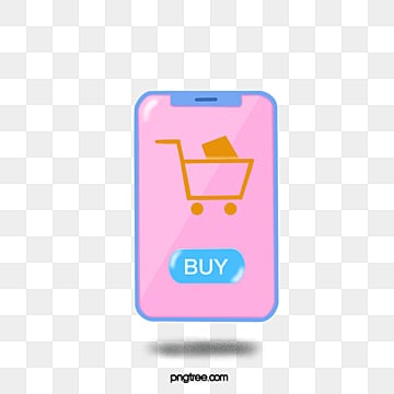 online shopping on smartphone network, Mobile Phone, Intelligent Life, Electronic Commerce PNG and PSD