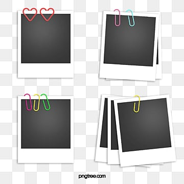 Paper clip, Office Supplies, Polaroid, Polaroid PNG and PSD