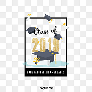 frame paper creative elements of graduation hat in 2019, 2019, Bachelor Cap, Graduation PNG and PSD