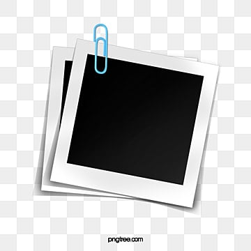 polaroid paper elements, Office Supplies, Paper Clip, Polaroid PNG and PSD