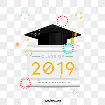 the creative elements of the 2009 graduation hat on the fireworks platform, 2019, Bachelor Cap, Graduation PNG and PSD