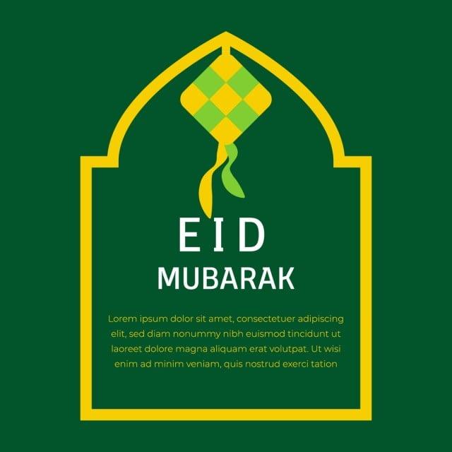 Hiasan Ied Mubarak Abstrak Rabi Allah Fail Png Dan Psd