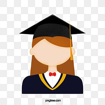 bachelors hat graduation photo for girls, College Student, Girl, Bachelor PNG and PSD