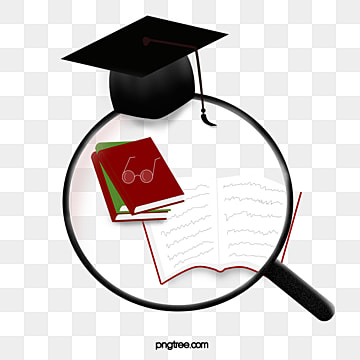 doctoral cap elements in creative books, Book, Creative, Doctorial Hat PNG and PSD