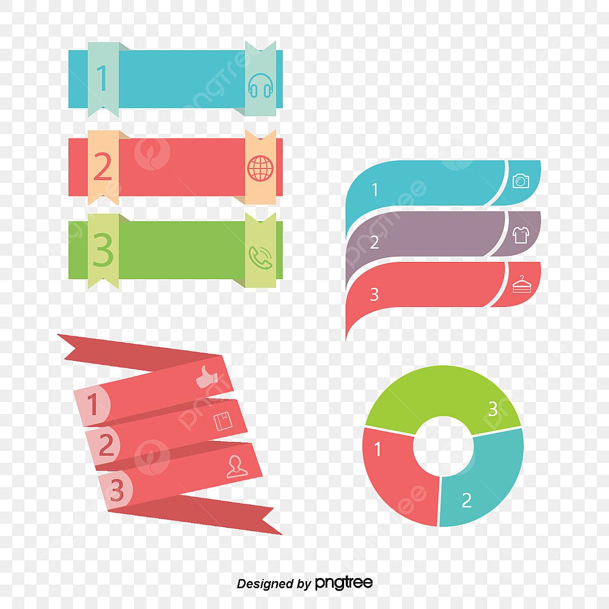 encadr u00e9 3 couleurs ppt des informations de titre ppt