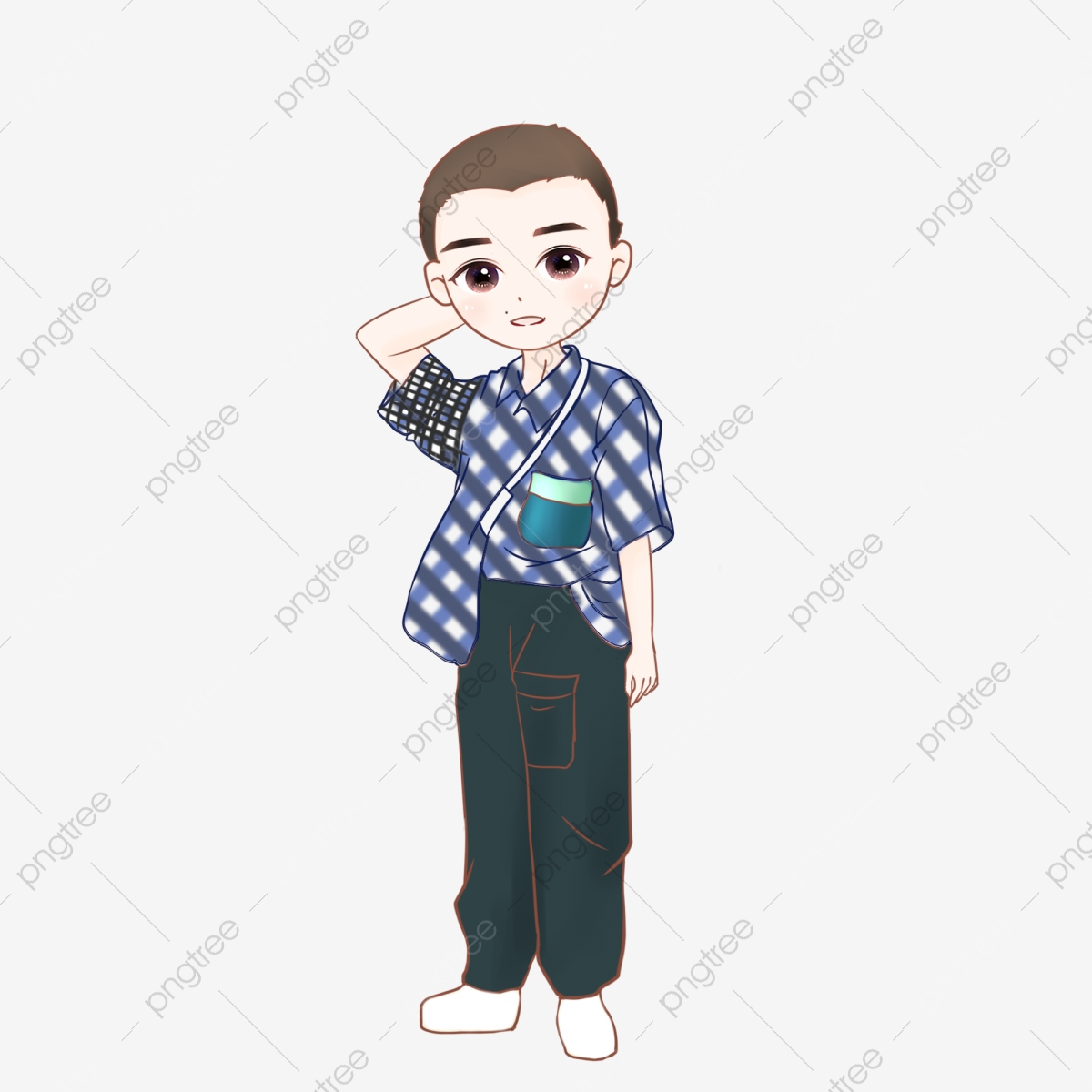 Boy Schematically Parts, Boy Clipart, Free Pull, Cartoon PNG ... on