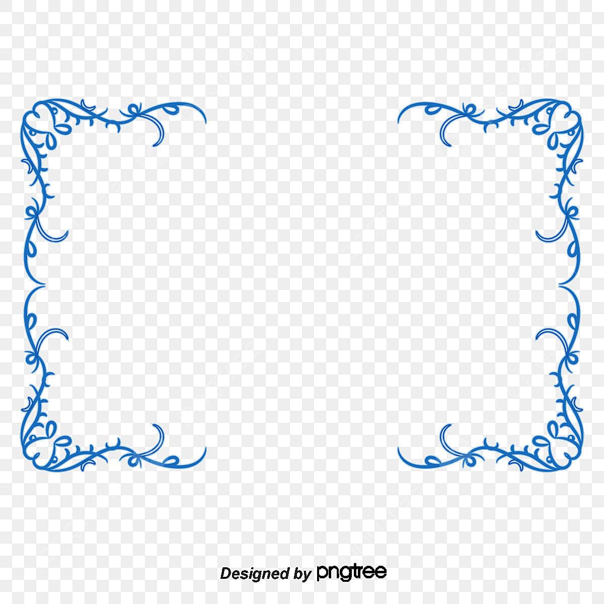 europa y los estados unidos de simple frontera azul azul