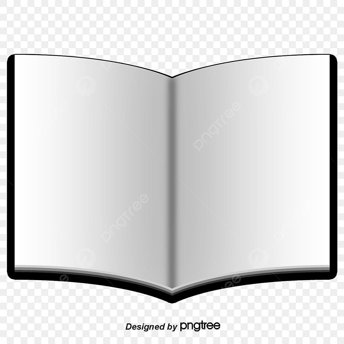 Sur Le Materiau De L Ebauche De Vecteur De Livre Ouvert