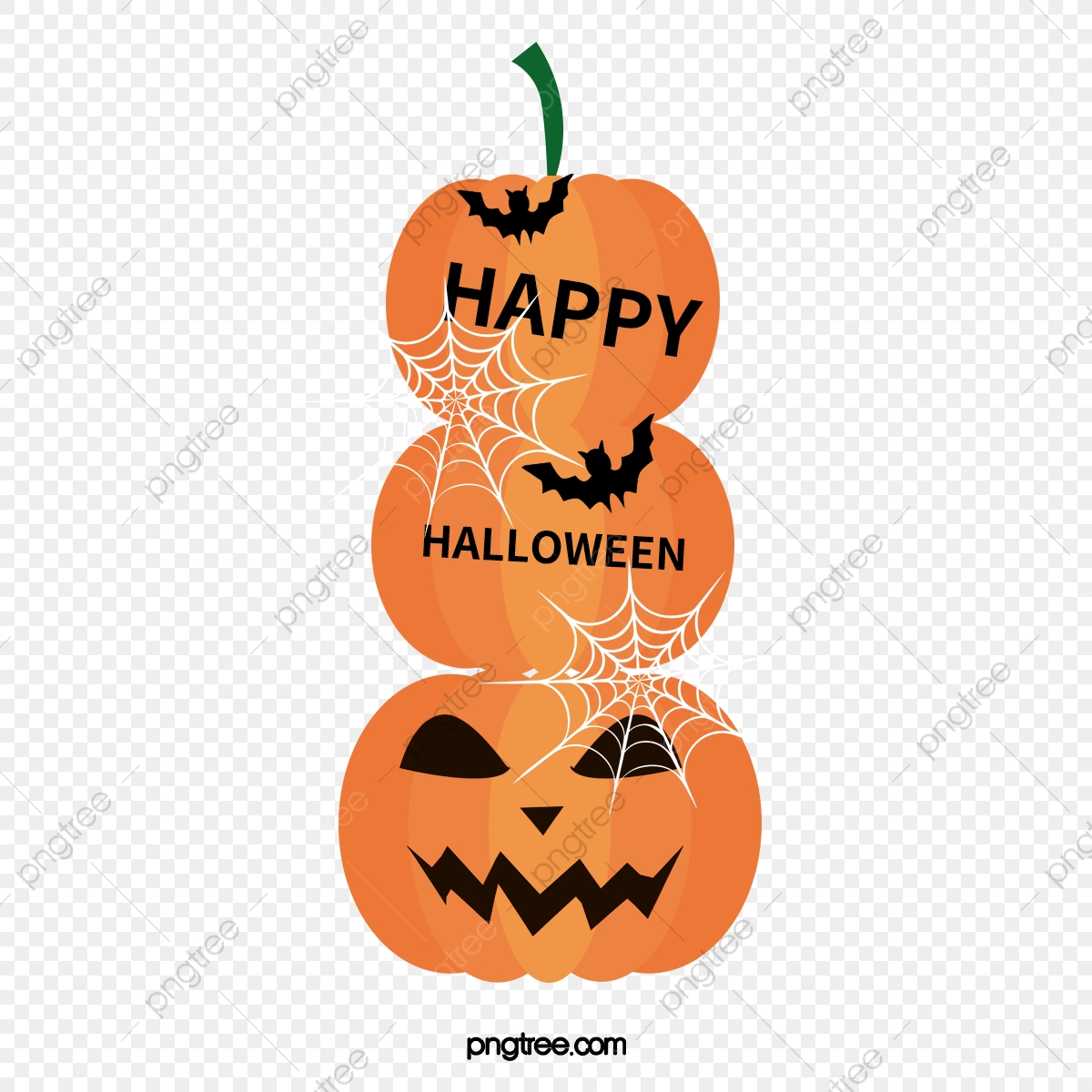 Happy Halloween Halloween Clipart Pumpkin Cartoon Pumpkin Png Transparent Clipart Image And Psd File For Free Download