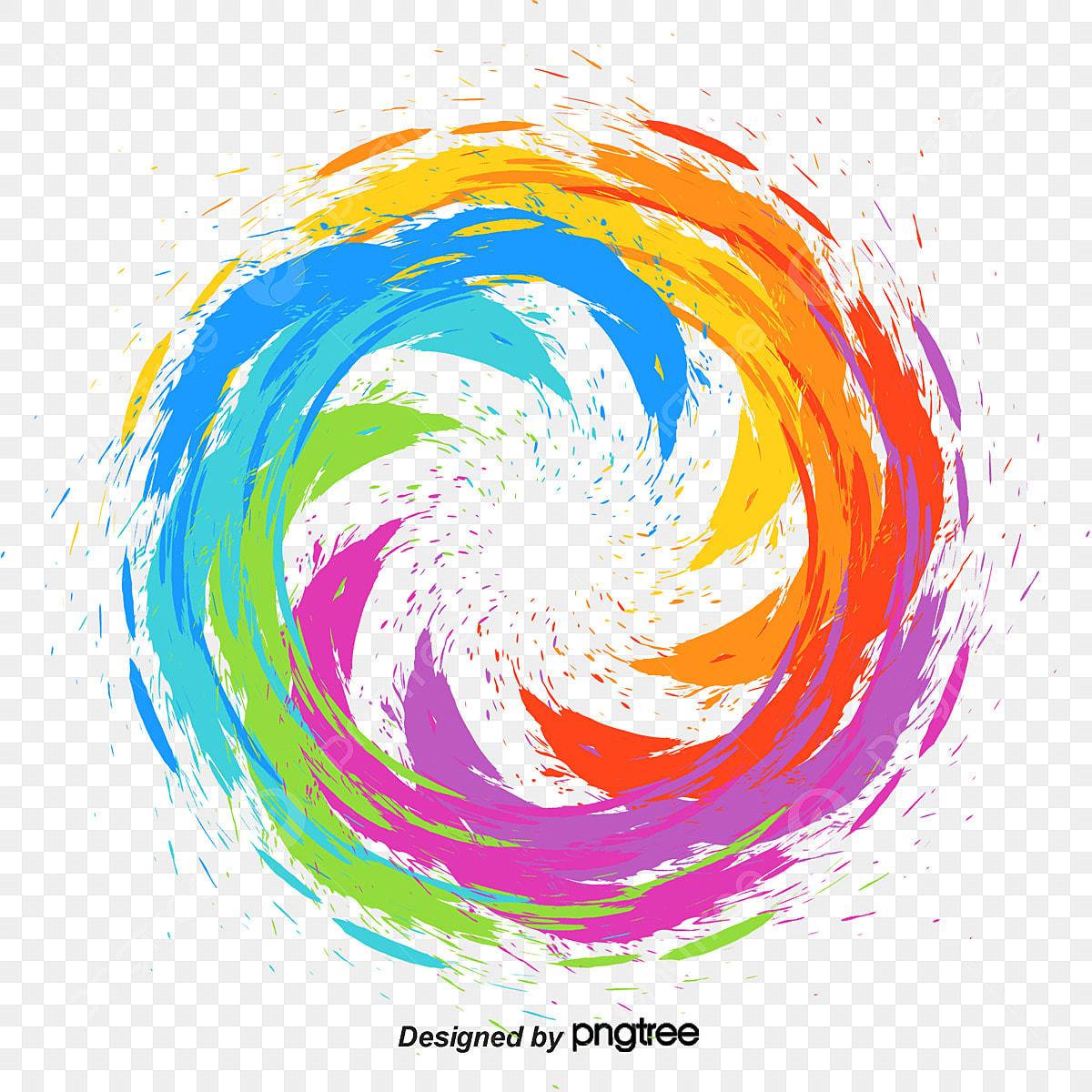 Bức Tranh Nhiều Màu Sắc Inkjet Trang Trí Hình ảnh đơn Giản