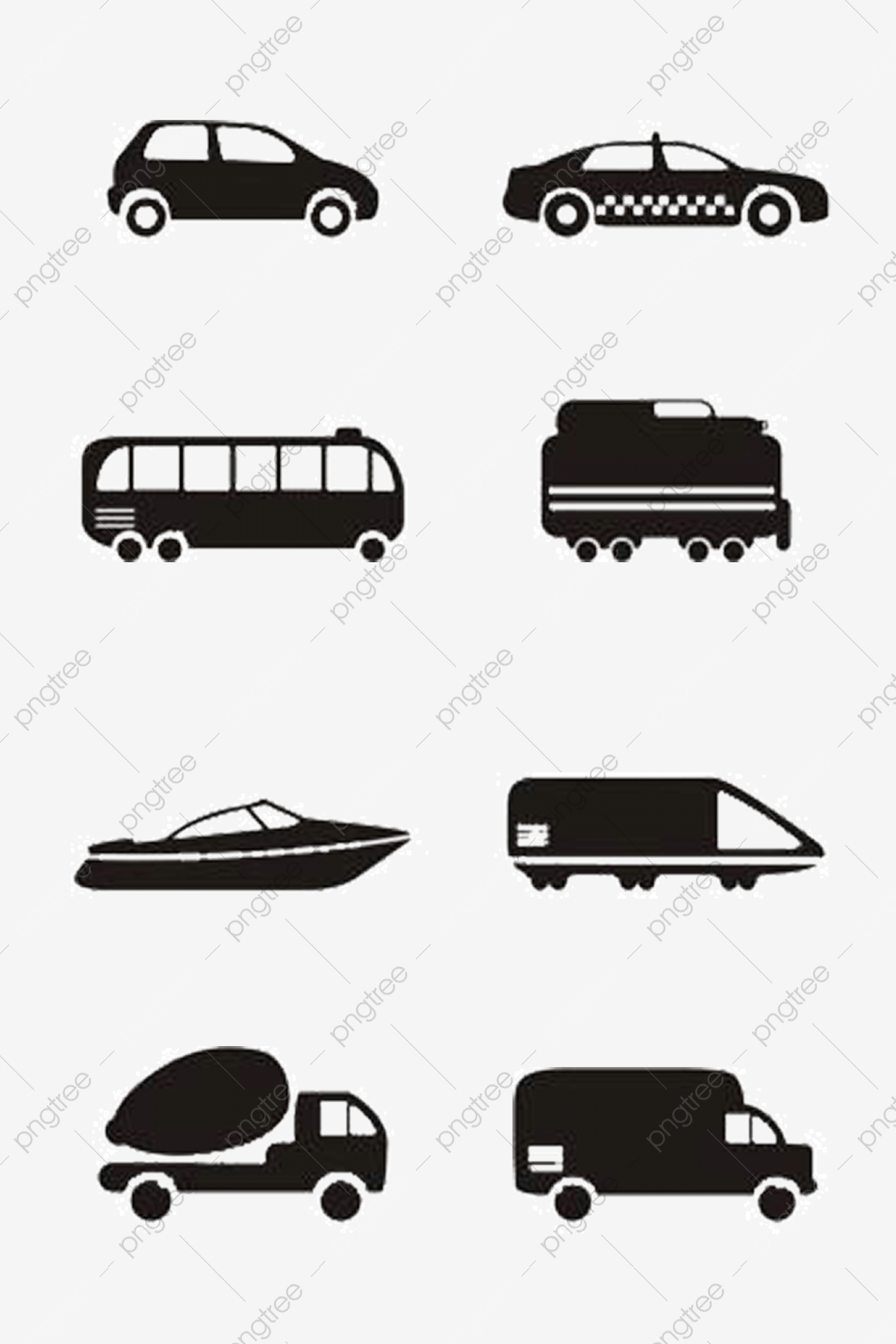 Vektor, auto, parts., satz, zeichen & schilder.