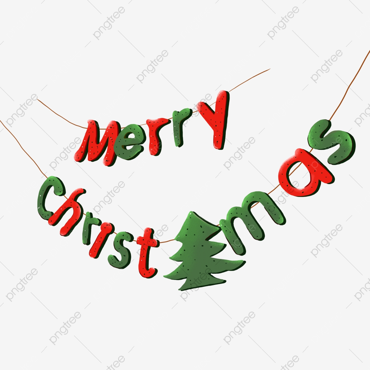 Red Merry Christmas In English Font, Red, Merry Christmas, English