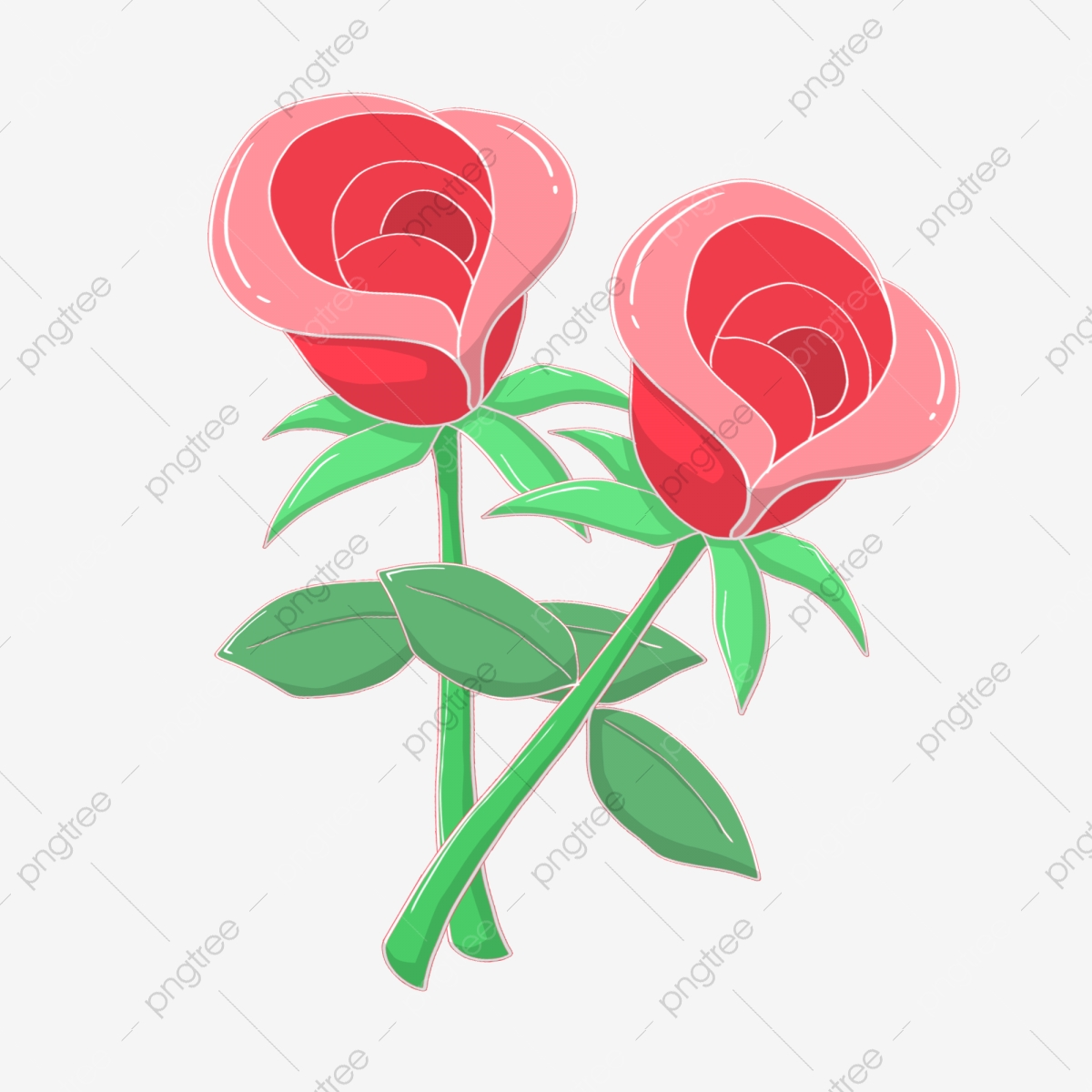 Red Rose Bushes, Rose Clipart, Roses, Green Grass PNG Transparent