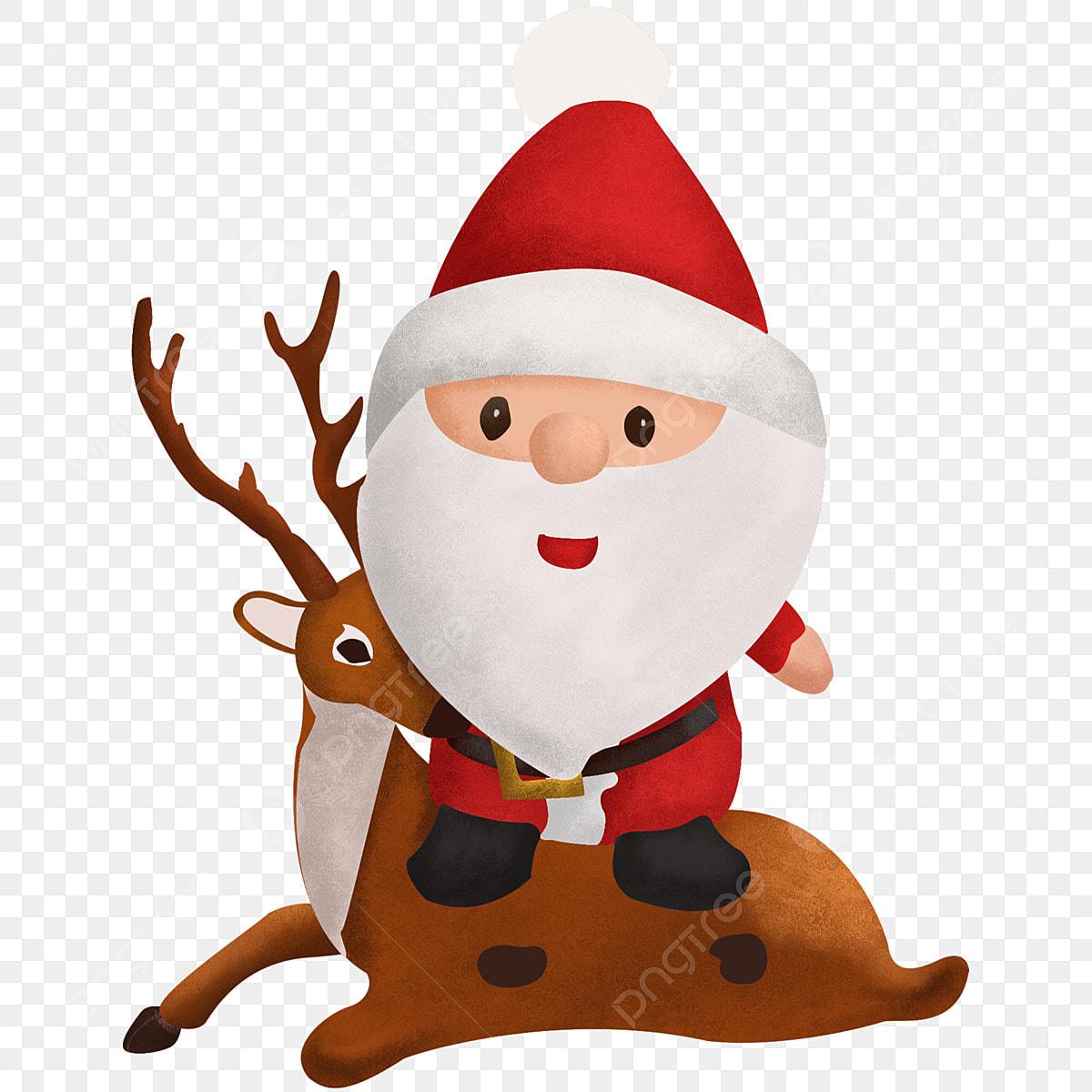 O Pai Natal E Renas Feliz Natal Rena De Natal Papai Noel
