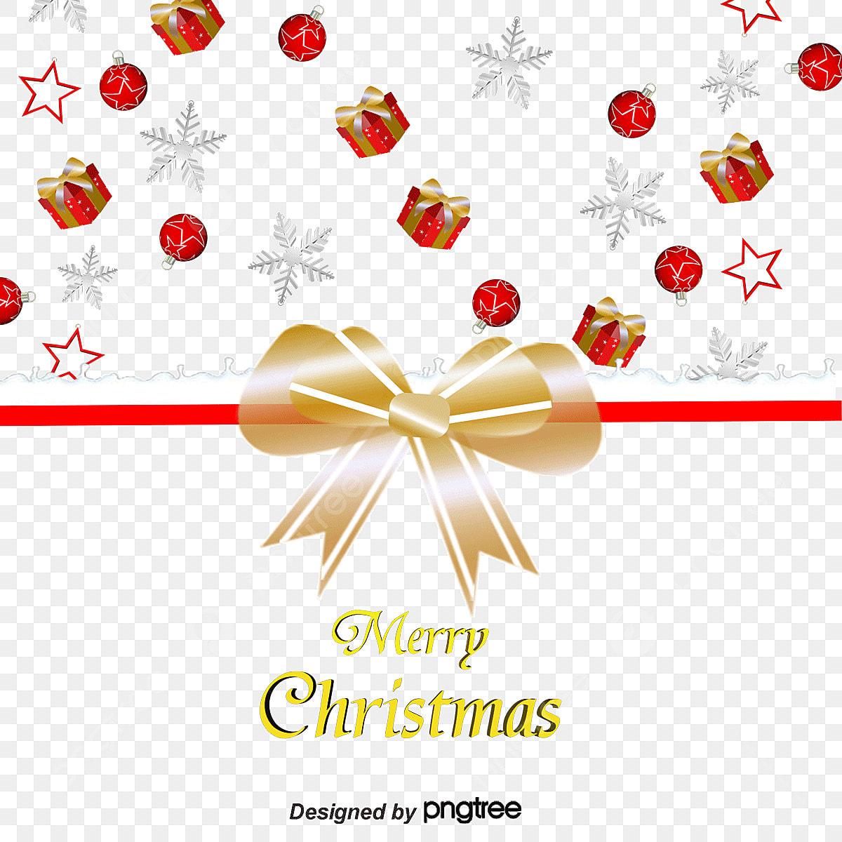 682d278a3e3d3 Des flocons de neige nœud papillon de cartes de Noël en matière de vecteur  Gratuit PNG et Vecteur