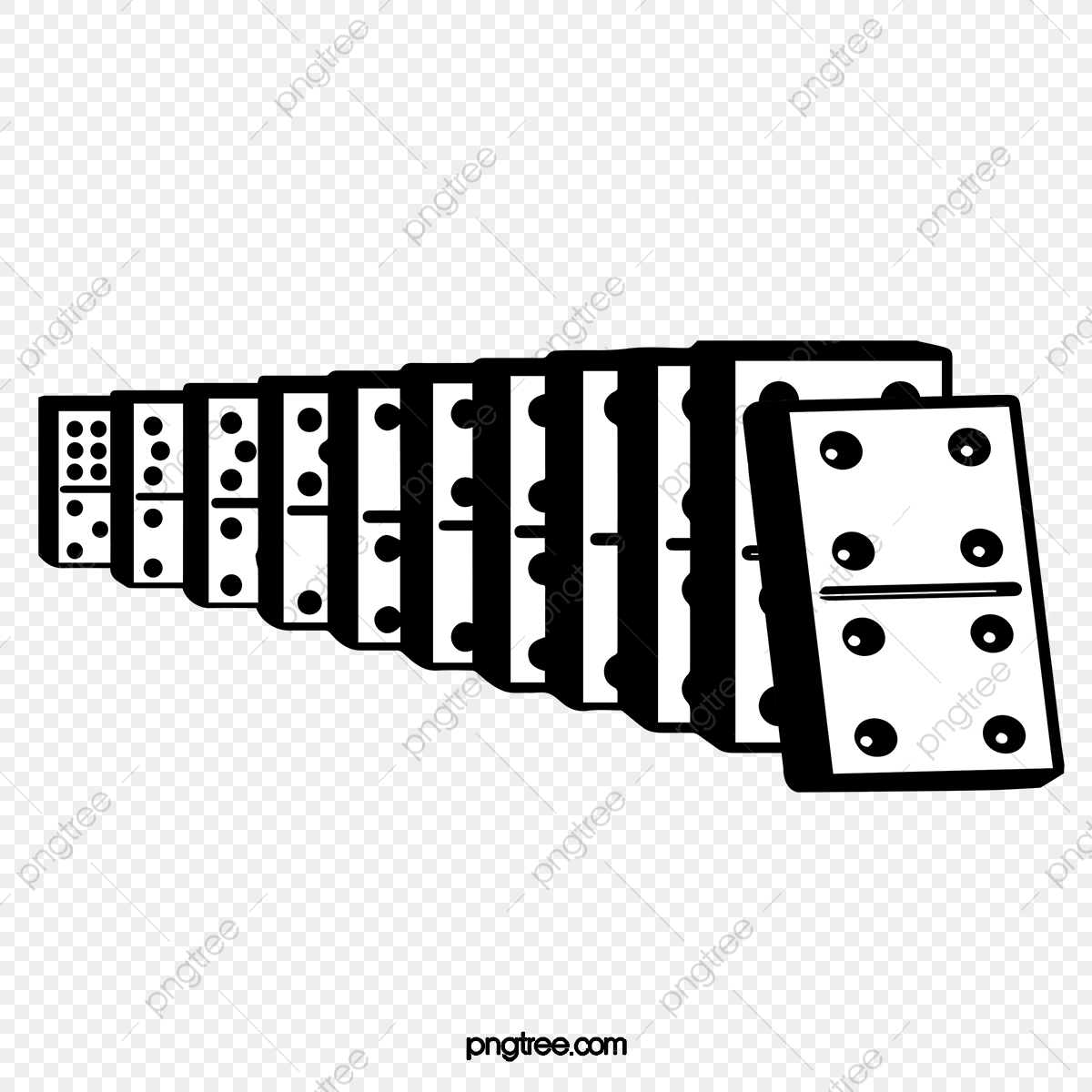 Vector Dominoes, Domino, Vector, Brand PNG and Vector with