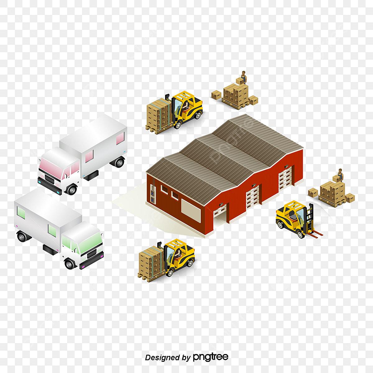 Building design for storage warehouse - Download Free Vectors, Clipart  Graphics & Vector Art