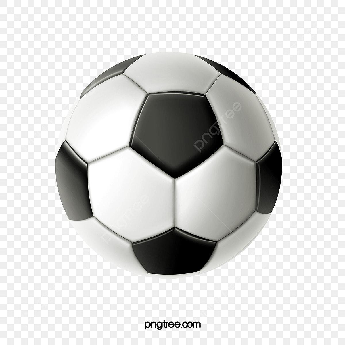 Un Ballon De Foot, Clipart Football, Football, Une Fichier PNG et ...