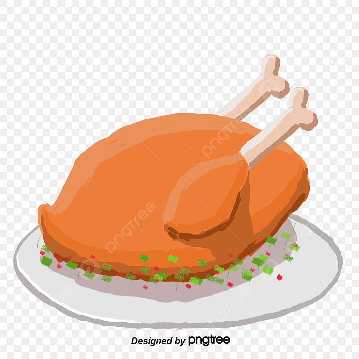 Chicken Food Cartoon Png