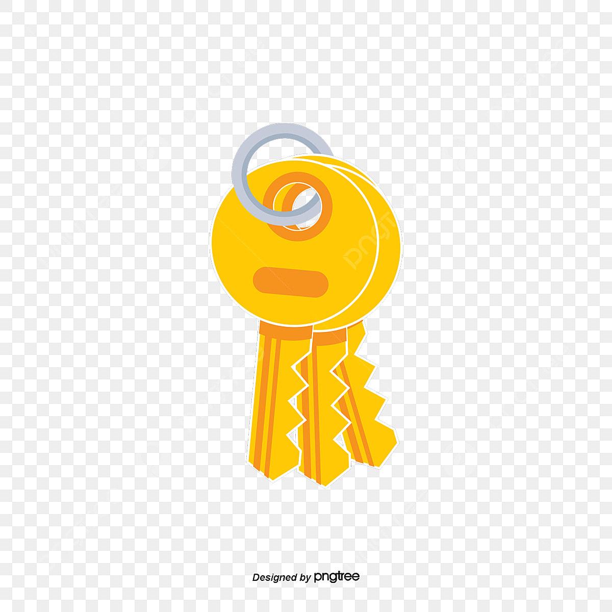 سلسلة مفاتيح ذهبية ناقلات الذهب سلسلة معدن Png وملف Psd للتحميل مجانا