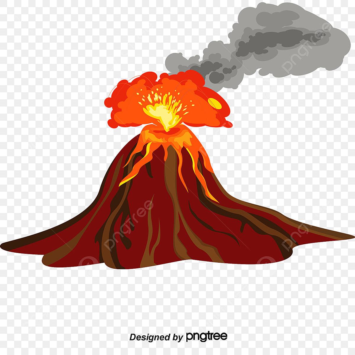Transparent Volcano Clipart - Transparent Background Volcano Png , Free  Transparent Clipart - ClipartKey