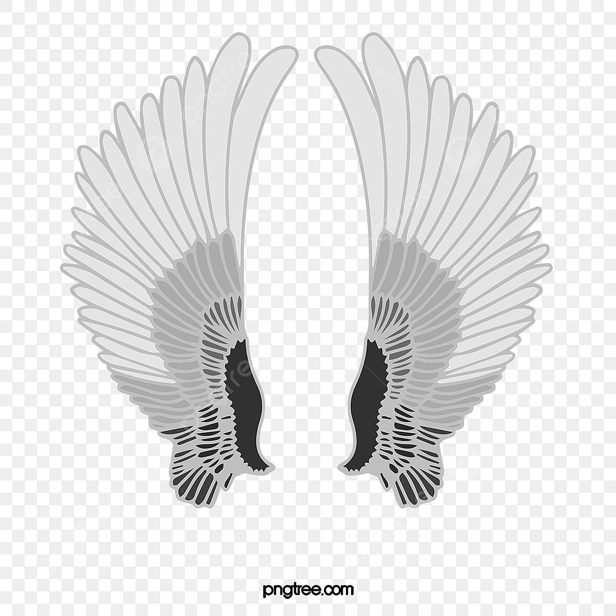 無料ダウンロードのための天使の羽素材 白い羽根 天使の翼 羽png画像素材