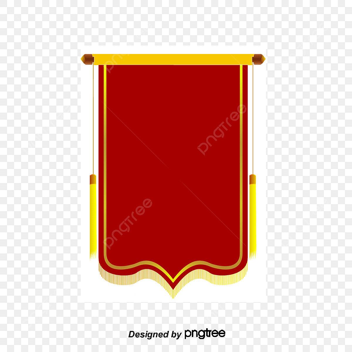 優勝旗のテンプレベクトル素材 赤い 優勝旗 ベクトル図画像素材の無料