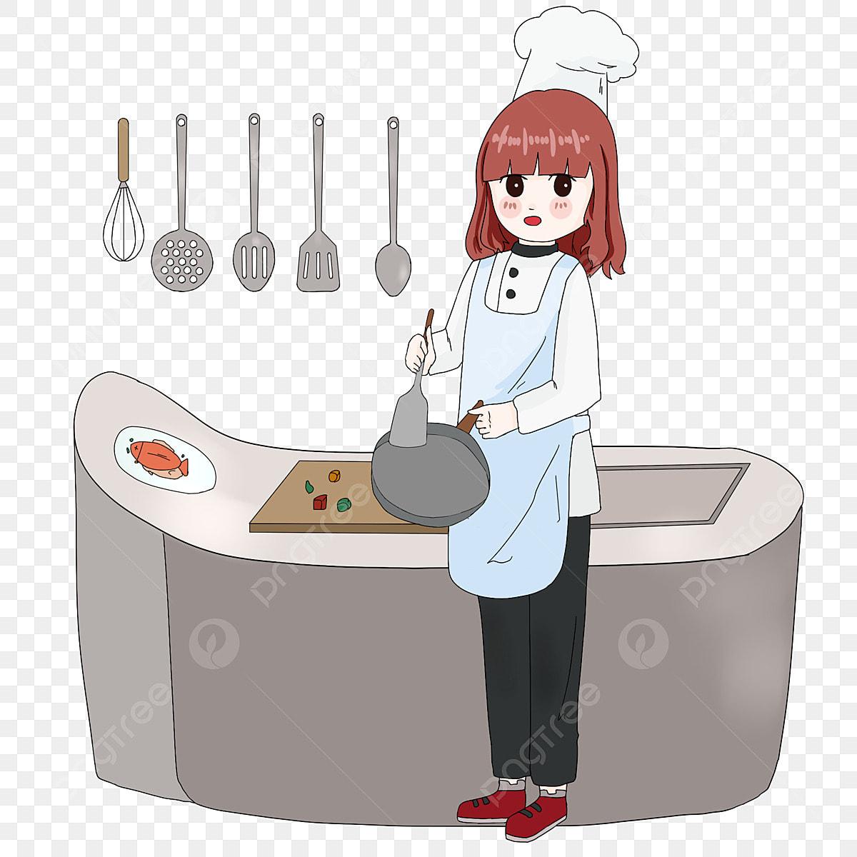 la beaut u00e9 de la cuisini u00e8re personnage dessin cuisinier png