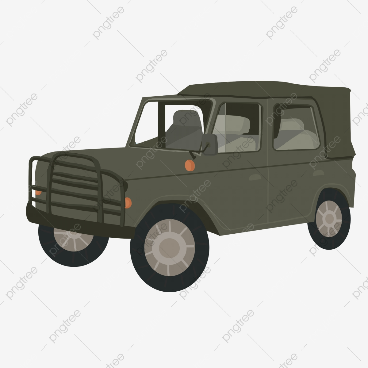 Black And White Jeep Jeep Clipart Cartoon Black Png Transparent